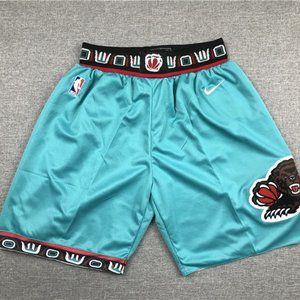 New Men's Memphis Grizzlies Green Shorts